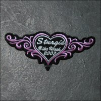 2007 Ladies Sturgis Event Patch - Pink
