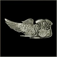 V Twin Eagle Wing Pin
