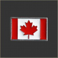 Canadian Flag Snap Head