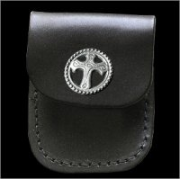 Decorative Cross Lighter Case