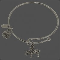 Flying Pig Bangle Bracelet