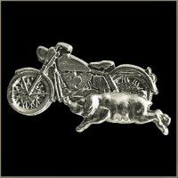 Bike with Pig Pin