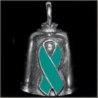 Ovarian Cancer Awareness Gremlin Bell