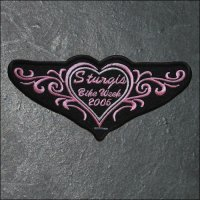 2006 Ladies Sturgis Event Patch - Pink