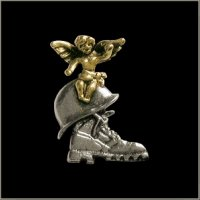 Military Guardian Angel Pin