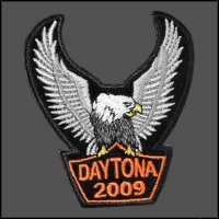 Daytona 2009 Eagle Patch