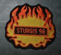 1998 Sturgis Flame Patch