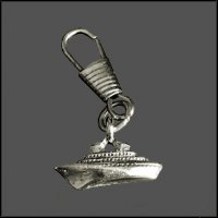 Cruise Ship Zipper Pull