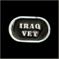 Iraq Vet Title Pin