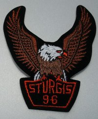 Sturgis 1996 Eagle Patch