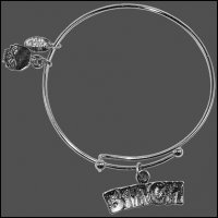 Bitch Bangle Bracelet