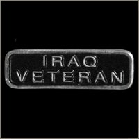 Iraq Veteran Pin