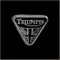 Triumph Motorcycle Pin