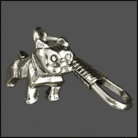 Bulldog Zipper Pull