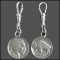 Buffalo Indian Head Nickel Zipper Pull