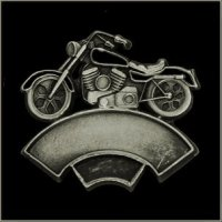 Double Line Motorcycle Event Pin