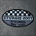 2007 Sturgis Event Patch
