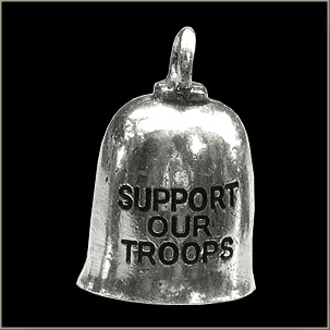Support our Troops Gremlin Bell - Click Image to Close