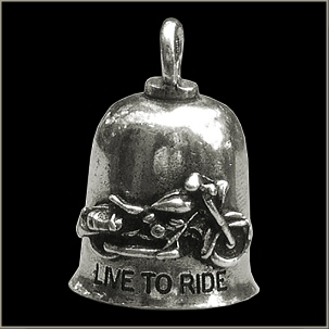 Live to Ride Gremlin Bell - Click Image to Close