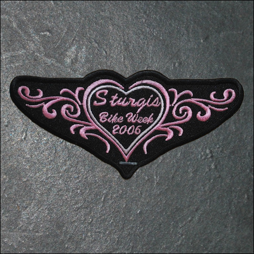 2006 Ladies Sturgis Event Patch - Pink - Click Image to Close